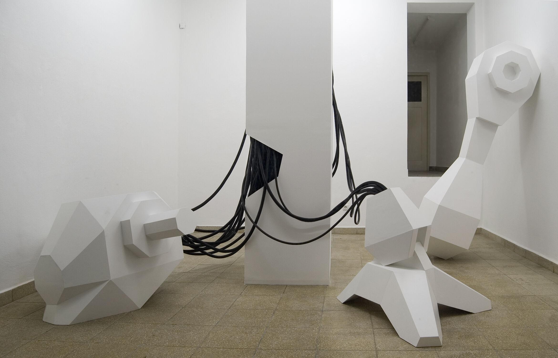 Kunst Installation München Rauminstallation