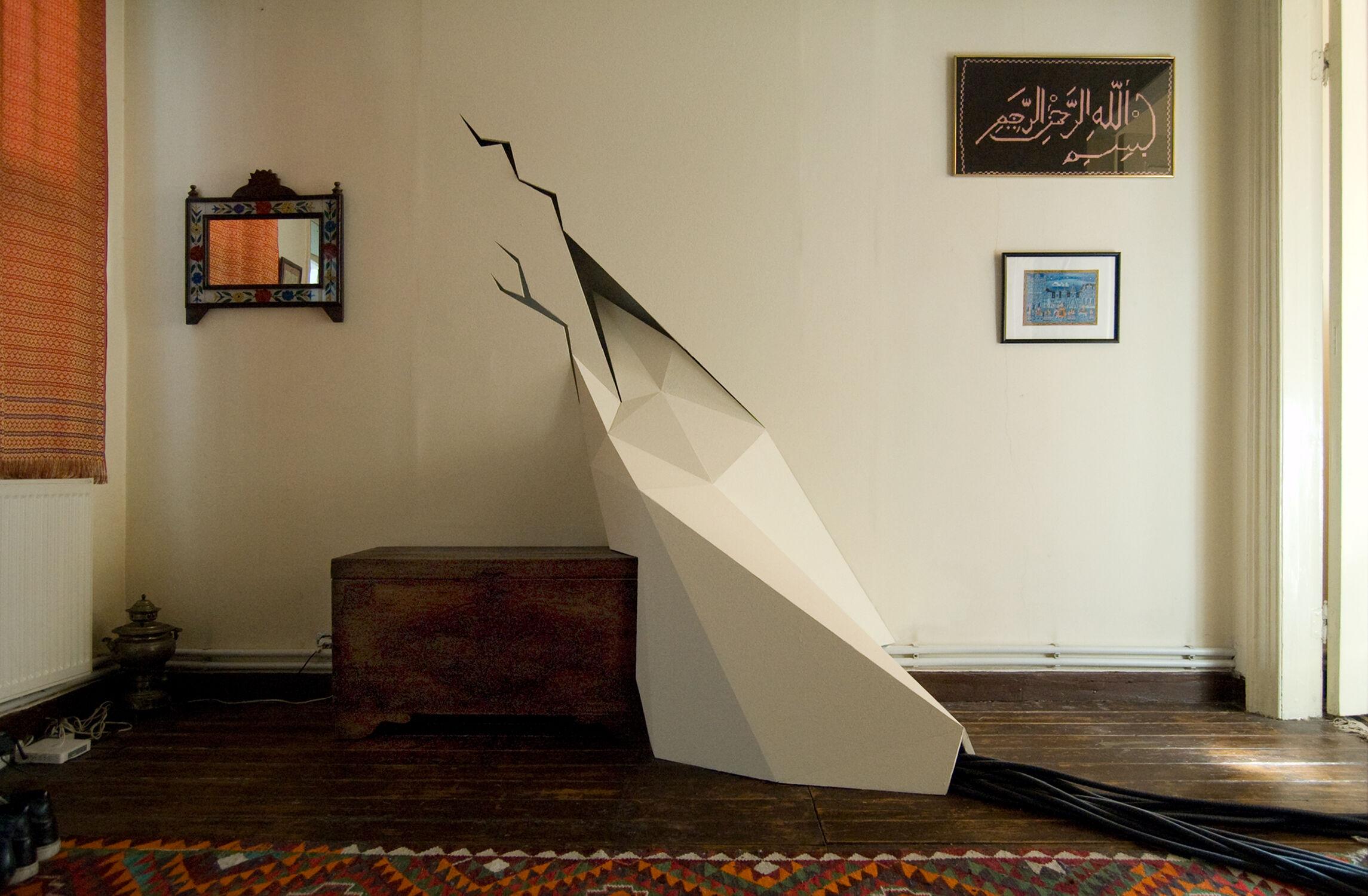 Installation Kunst Istanbul Rauminstallation